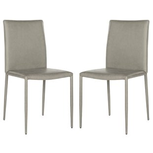 Clingman Patio Dining Chair with Cushion (Set of 2)