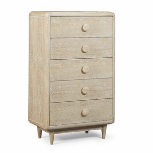 Yasmine 5 Drawer Chest by Brayden Studio