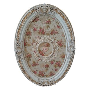 French Foliate Oval Chandelier Ceiling Medallion 761dcc4cf