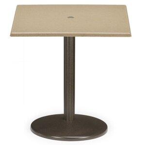 Werzalit Square Spun Pedestal Bar Table b..