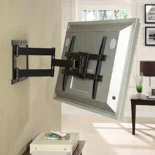 Large Full Motion Articulating ArmSwivelTilt Wall Mount for 19 - 80 Flat Panel Screens in Black