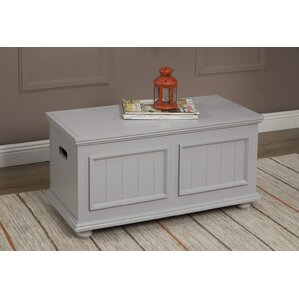 Image of: Rustic Storage Trunk Coffee Table