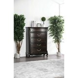 Phebe Wooden 5 Drawer Chest by Astoria Grand