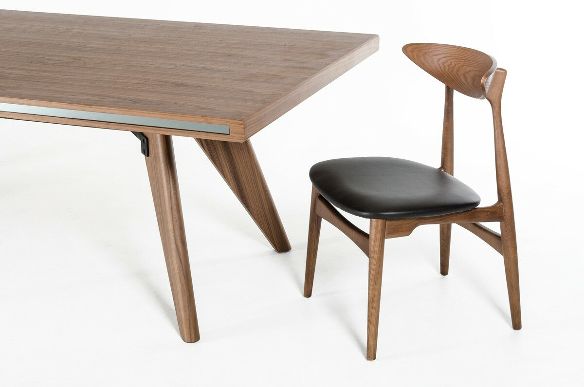 Corrigan studio akan walnut dining table reviews wayfair akan walnut dining table dzzzfo