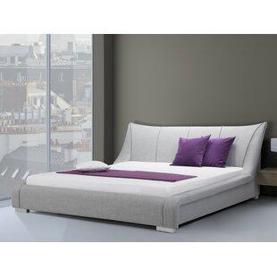 Review Redner European Double (140 X 200 Cm) Upholstered Bed Frame