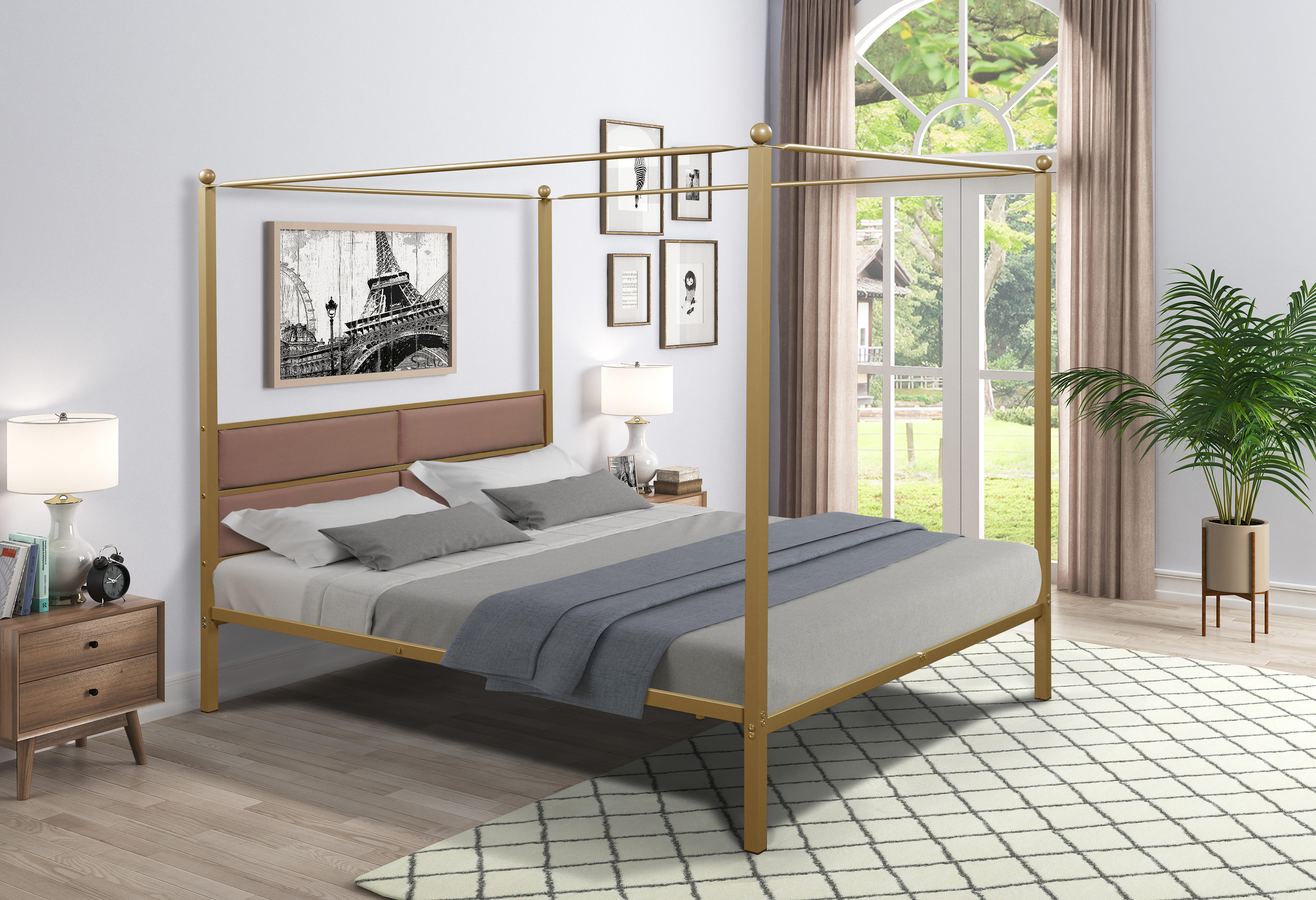 Brass Beds Frames You Ll Love In 2021 Wayfair