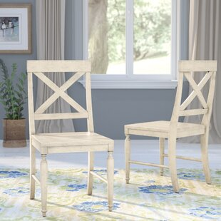Liza Solid Wood Dining Chair (Set of 2) August Grove