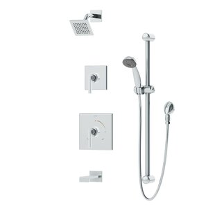 Symmons Duro 2-Handle Thermostatic Dual Function Complete Shower System