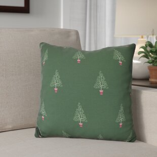 Filigree Forest Outdoor Throw Pillow