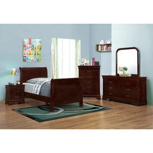 Crumrine Sleigh Bed