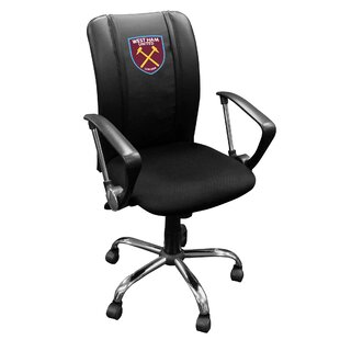 West Ham United Crest Logo Curve Task Chair