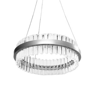 Duvall 1-Light LED Crystal..