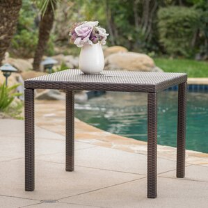 Joselyn Outdoor Square Dining Table by Zipcode Design