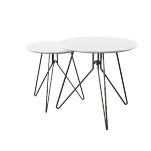 Dolly 2 Piece Nest Of Tables By Zipcode Design