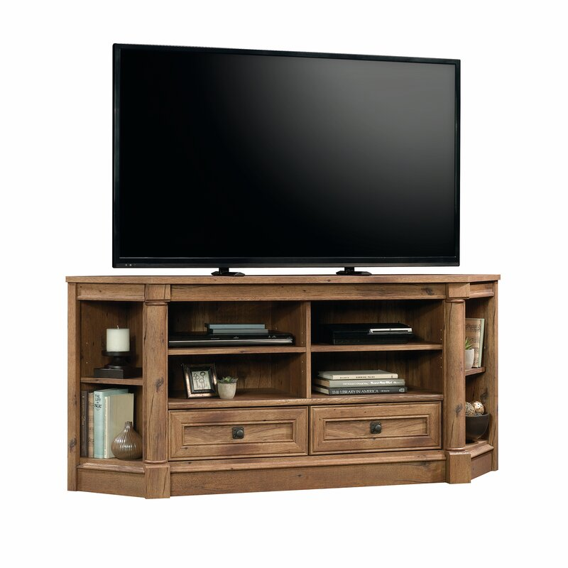 Orviston Corner Tv Stand For Tvs Up To 60 Reviews Joss Main