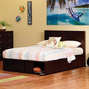 Latitude Run Erskine Full Storage Platform Bed