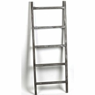Wooden 4.5 ft Decorative Ladder by Foundry Select
