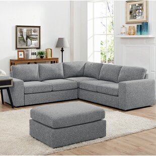 Angelia Reversible Sectional with Ottoman
