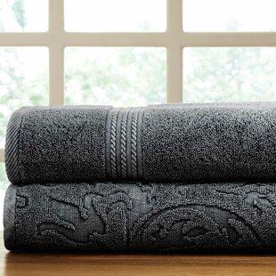 2 Piece 100% Cotton Towel Set