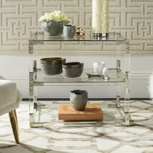 Aresford Acrylic End Table