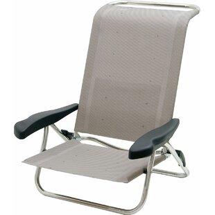 Makhzane Reclining/Folding Beach Chair By Sol 72 Outdoor