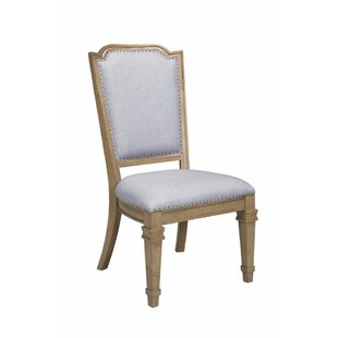 Valerio Modern Vintage Style Upholstered Dining Chair (Set of 2) One Allium Way
