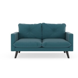 Rocky Hill Oxford Weave Loveseat by Brayden Studio