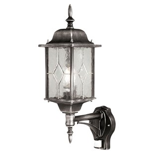Verrett 1 Light Outdoor Wall Lantern With Motion Sensor By Marlow Home Co.