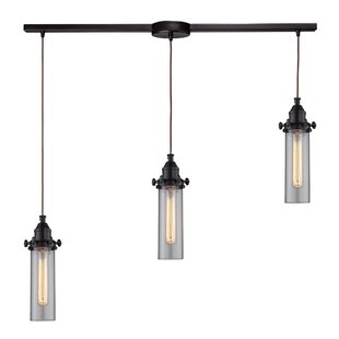 Rawlings 3-Light Cluster Pendant by 17 Stories
