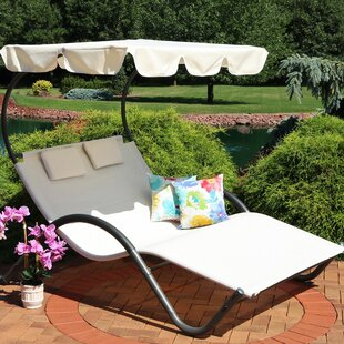 Charlbury Double Chaise Lounge with Cushion