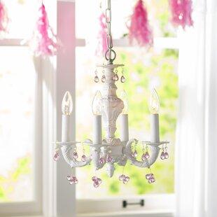 Viv + Rae Odessa 4-Light Candle Style Cha..