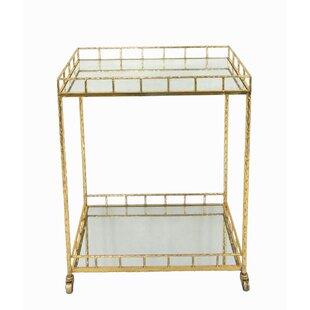 2-Tier Bar Cart by Sagebrook Home