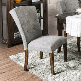 Sabbagh Upholstered Dining Chair (Set of 2)