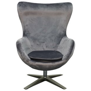 Finn Swivel Wingback Chair by New Pacific Direct