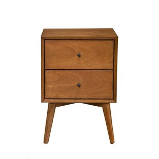 George Oliver Gloucester Mahogany Wood 2 Drawer Nightstand