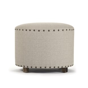 Dowdey Round Accent Stool by Canora Grey
