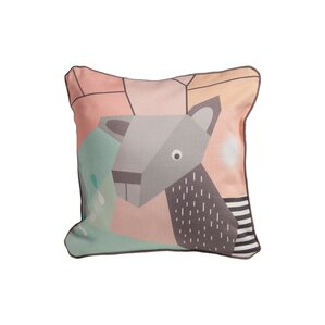Menagerie Throw Pillow