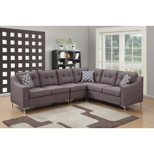 AC Pacific Kayla Mid Century Sectional