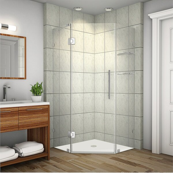 Aston Neoscape Gs 42 X 72 Neo Angle Hinged Shower Enclosure Reviews Wayfair