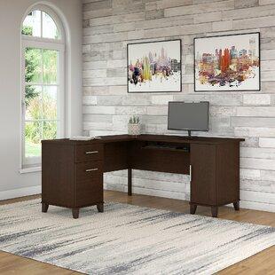 Reviews Chase L-Shaped Executive Desk ByRed Barrel Studio