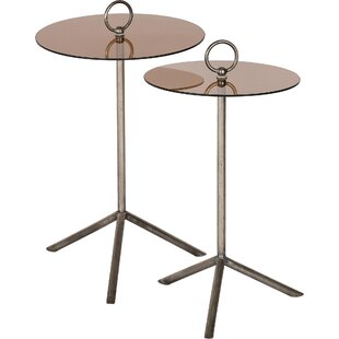 Best Eoin 2 Piece Nesting Tables by 17 Stories