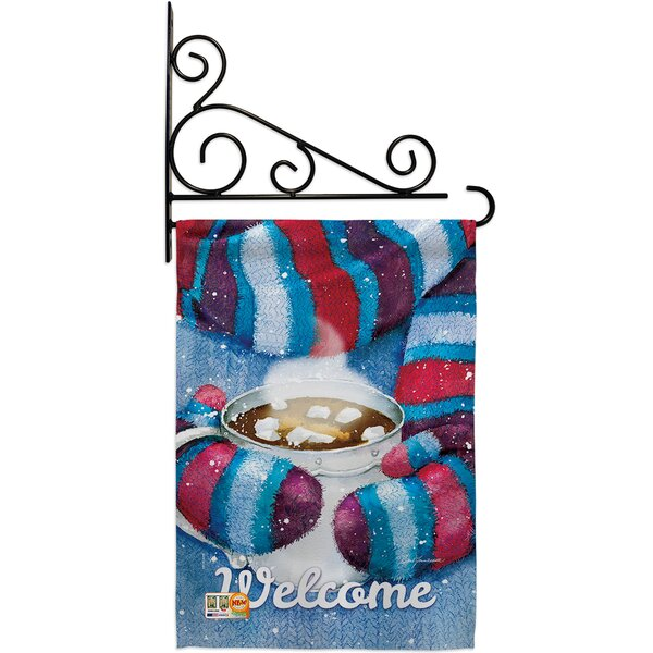 Breeze Decor Mittens And Cocoa 2 Sided Polyester 19 X 13 In Flag Set Wayfair