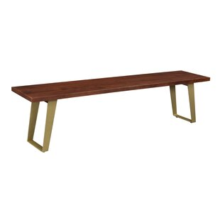 Yeager Wood Dining Bench by Union Rustic