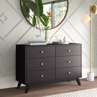 Astra 6 Drawer Double Dresser
