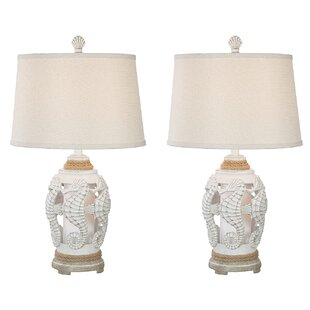 Cantrell Seahorse Coastal 25 Table Lamp (Set of 2)