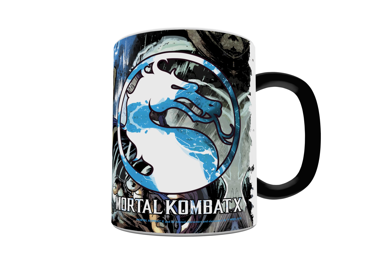 Morphing Mugs Mortal Kombat X Lord Raiden Heat Sensitive Mug Wayfair