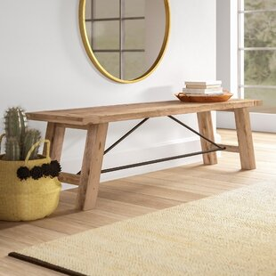 Maiorano Wood Bench