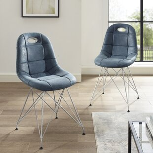 Orren Ellis Conwell Upholstered Dining Chair (Set of 2)