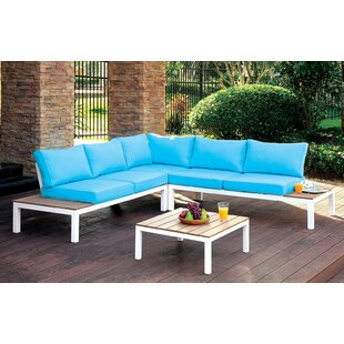 Cranston 6 Piece Sectional Set with Cushions