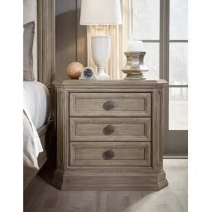 Thaxted 3 Drawer Nightstand by Darby Home Co